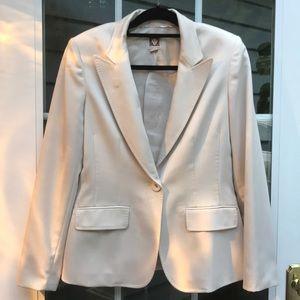 Anne Klein cream colored suit